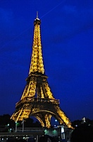 Eifel from Seine Night Cruise