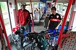 Bikes on Train