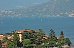 Sailbots on lake Como