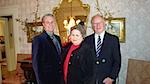 Foy, Ken and Mrs. Harding