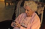Grandma with iPhone!