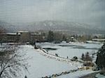 Snowing Broadmoor