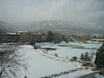 Snowing Broadmoor